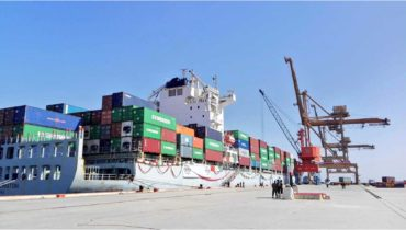 First CPEC cargo shipment launched from Gwadar Port