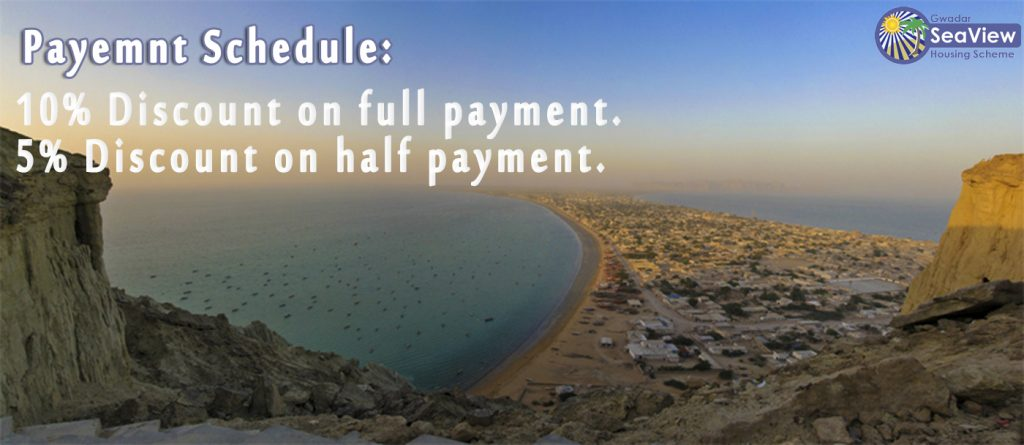 Gwadar Sea view Housing Scheme Payment Plan